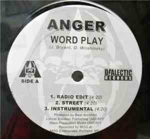 Anger  - Word Play  You Dont Know Me