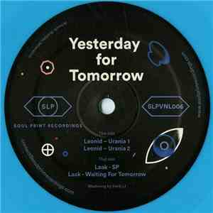 Leonid  Laak - Yesterday For Tomorrow